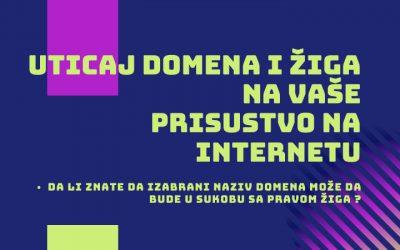 Uticaj domena i žiga na prisustvo na internetu